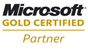 Microsoft-certified GOLD partner